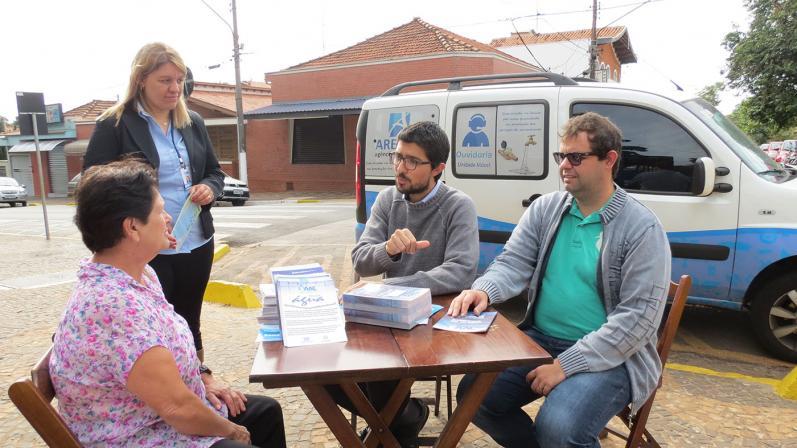 Unidade móvel da ARES PCJ realiza ação em Cordeirópolis