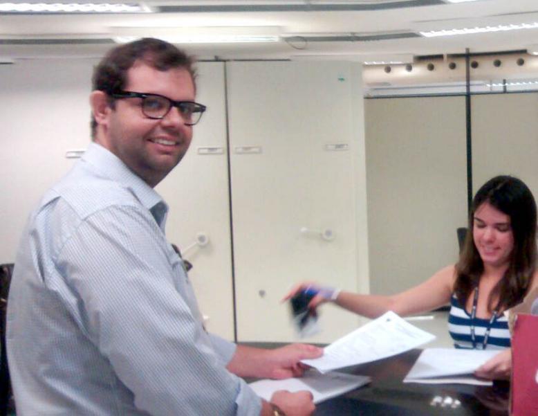 SAAE entrega documentação para finalização do projeto para nova represa