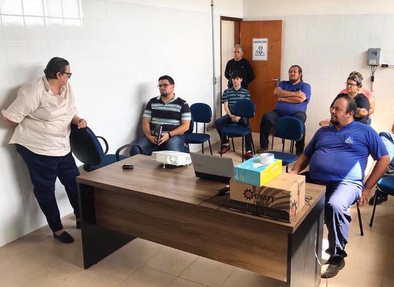 Servidores do SAAE participam de treinamento na nova ETA