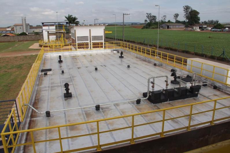 SAAE inicia operações da nova Estacão de Tratamento de Água