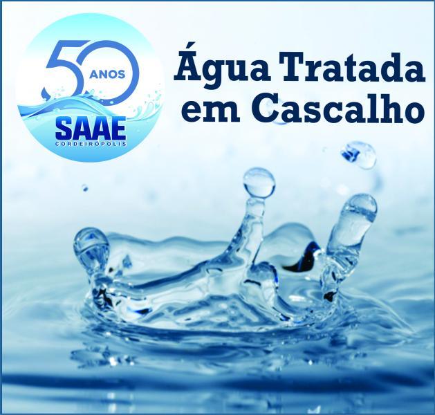 Atenção Cascalho - Ligação da água tratada está em fase final!